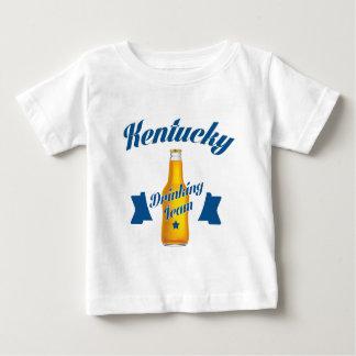 Camiseta Para Bebê Equipe do bebendo de Kentucky