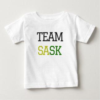 Camiseta Para Bebê Equipe Sask