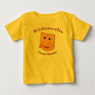Camiseta Para Bebê Erro honesto