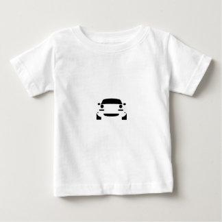 Camiseta Para Bebê Esboço de Miata