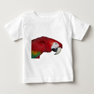 Camiseta Para Bebê Escarlate do Macaw