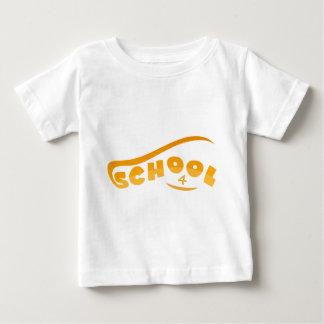 Camiseta Para Bebê Escola
