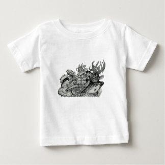 Camiseta Para Bebê Escondido Wallow a banheira de hidromassagem