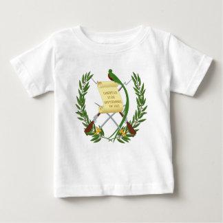 Camiseta Para Bebê Escudo de armas de Guatemala - brasão