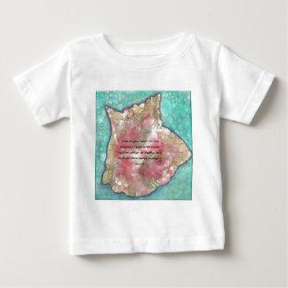 Camiseta Para Bebê Escudo do Conch