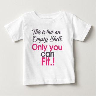 Camiseta Para Bebê escudo do empt