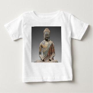Camiseta Para Bebê Escultura descolorada de Buddha - dinastia de Tang