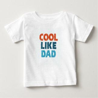 Camiseta Para Bebê esfrie como o pai