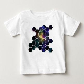 Camiseta Para Bebê espaço geométrico