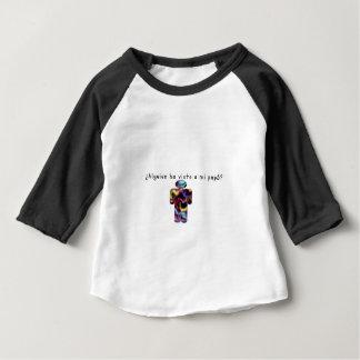 Camiseta Para Bebê Espanhol-Pai