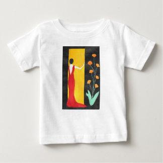 Camiseta Para Bebê Esperando o