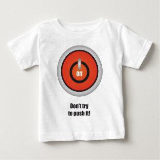 Camiseta Para Bebê Esperanissa - desligue com texto