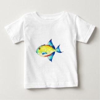 Camiseta Para Bebê Esperimentoza - peixe lindo