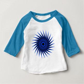 Camiseta Para Bebê Espiral Burst1