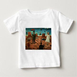 Camiseta Para Bebê espírito dos guarda-chuvas do vôo