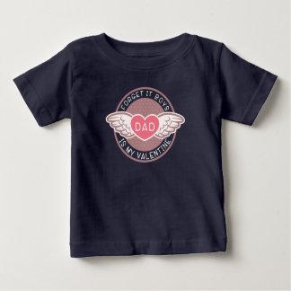 Camiseta Para Bebê Esqueça que pai dos meninos é meus namorados