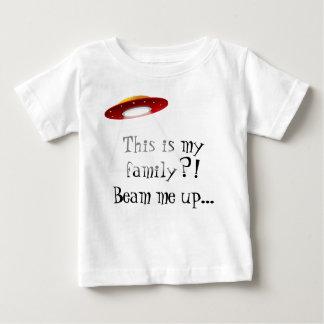 Camiseta Para Bebê Esta é minha família? T do bebê