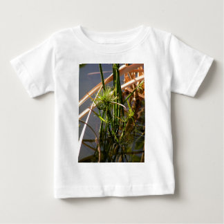 Camiseta Para Bebê Estações de tratamento de água na lagoa