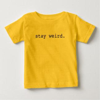 Camiseta Para Bebê estada estranha