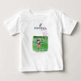 Camiseta Para Bebê Estada focalizada, fernandes tony do futebol