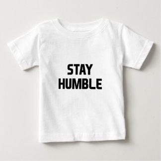 Camiseta Para Bebê Estada humilde