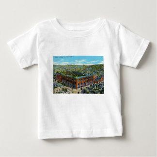 Camiseta Para Bebê Estádio de basebol do parque de liga