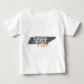 Camiseta Para Bebê Estado de ânimo de Tennessee