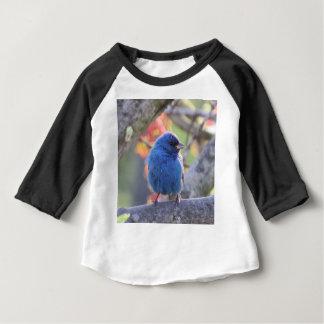 Camiseta Para Bebê Estamenha de índigo