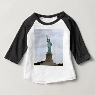 Camiseta Para Bebê Estátua da liberdade