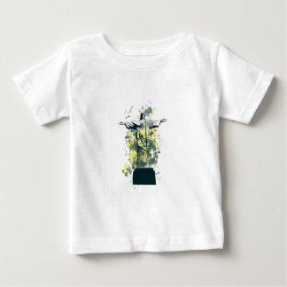 Camiseta Para Bebê estátua da religião