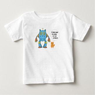 Camiseta Para Bebê Esteja para trás indo tentar o gato engraçado do