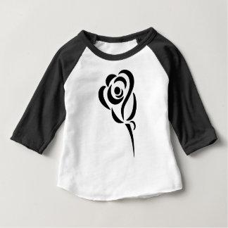 Camiseta Para Bebê Estilizado aumentou
