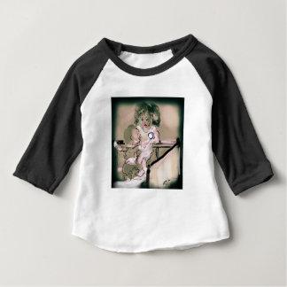 Camiseta Para Bebê Estilo do vintage da captura da ucha
