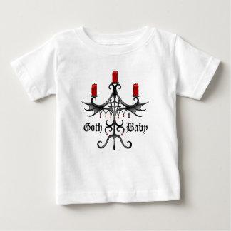 Camiseta Para Bebê Estilo gótico elegante