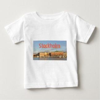 Camiseta Para Bebê Éstocolmo, suecia