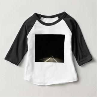 Camiseta Para Bebê Estradas escuras e aventuras do nighttime