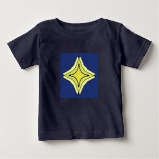 Camiseta Para Bebê Estrela da trindade