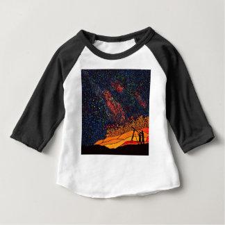 Camiseta Para Bebê Estrela que olha