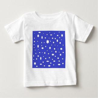 Camiseta Para Bebê estrelado-nite