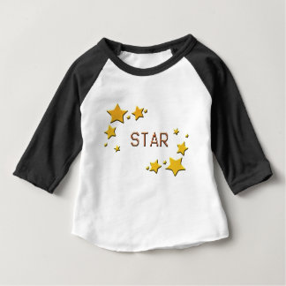 Camiseta Para Bebê estrelas