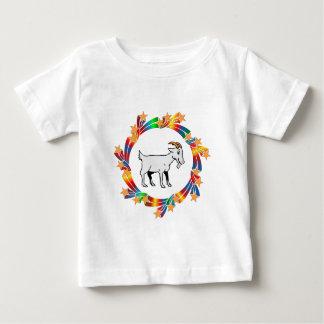 Camiseta Para Bebê Estrelas da cabra