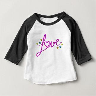 Camiseta Para Bebê Estrelas do amor