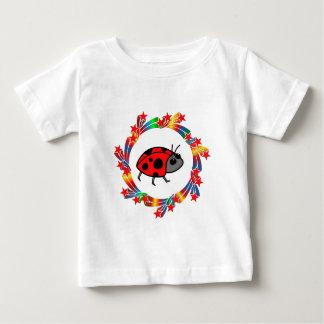 Camiseta Para Bebê Estrelas do joaninha