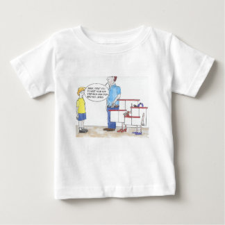 Camiseta Para Bebê Etapa para fora