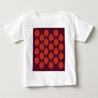Camiseta Para Bebê Ethno do choco dos elementos do design