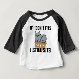 Camiseta Para Bebê Eu ainda sento-me