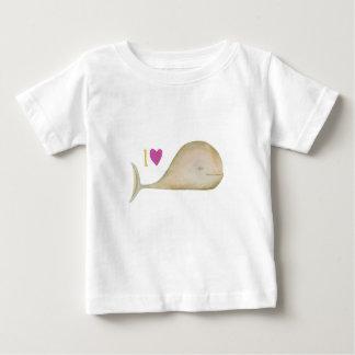 Camiseta Para Bebê Eu amo as rodas