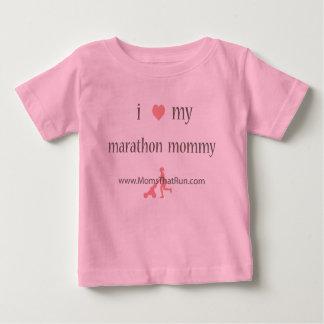 Camiseta Para Bebê eu amo meu t-shirt das meninas das mamães da
