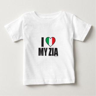 Camiseta Para Bebê EU AMO MEU ZIA.ai
