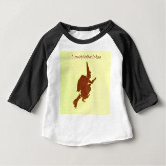 Camiseta Para Bebê Eu amo minha sogra